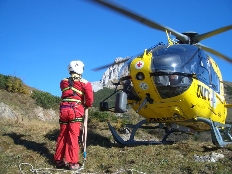 Alpinunfall am Hochblaser