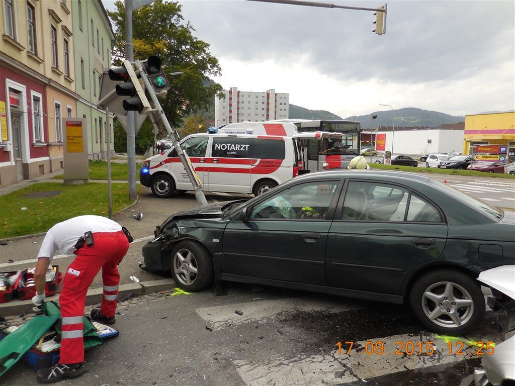 Verkehrsunfall mit schweren Verletzungen