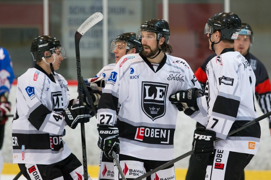 Eishockey: LE Kings vs. Panthers Frohnleiten 8:4