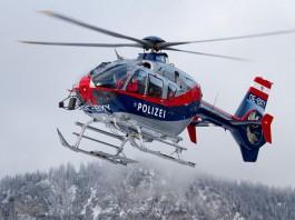 Hubschrauber Alpinpolizei