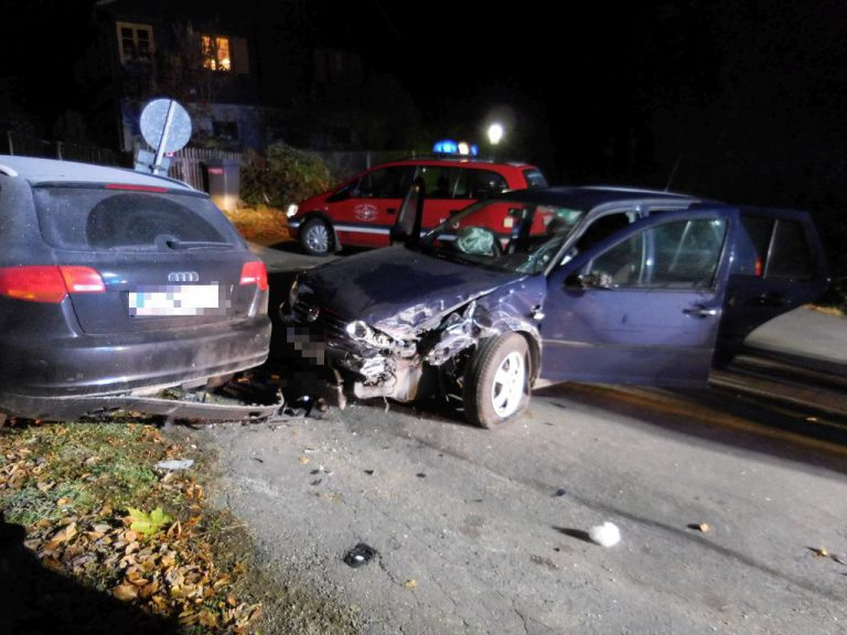 Alkolenker verursachte mehrere Unfälle