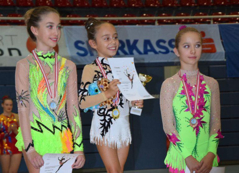2 x Gold bei Bundesmeisterschaften der Rhythmischen Sportgymnastik