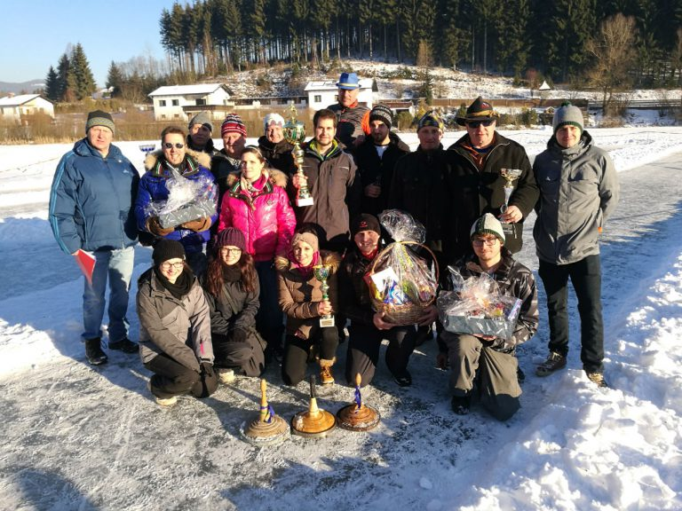 Kammerner-Eisstockmeisterschaft am Trabochersee