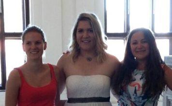 Foto: Von links nach rechts: Nina Partlic, Sarah Spitzer, Alexandra Vollmann