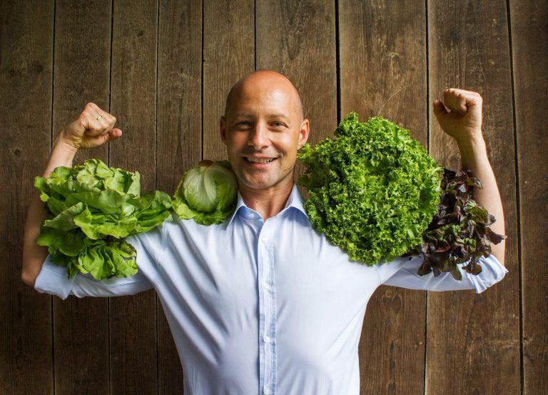 Was alles hinter der Erzeugung von Salat steckt