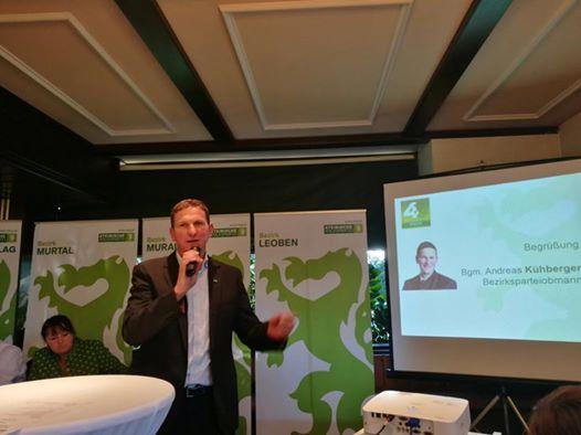Andreas Kühberger VP-Spitzenkandidat für die Obersteiermark