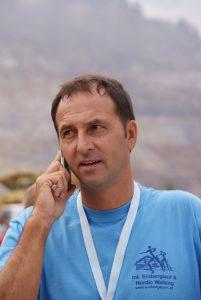 Ideengeber/Veranstalter und Mastermind Rudolf Tischhard