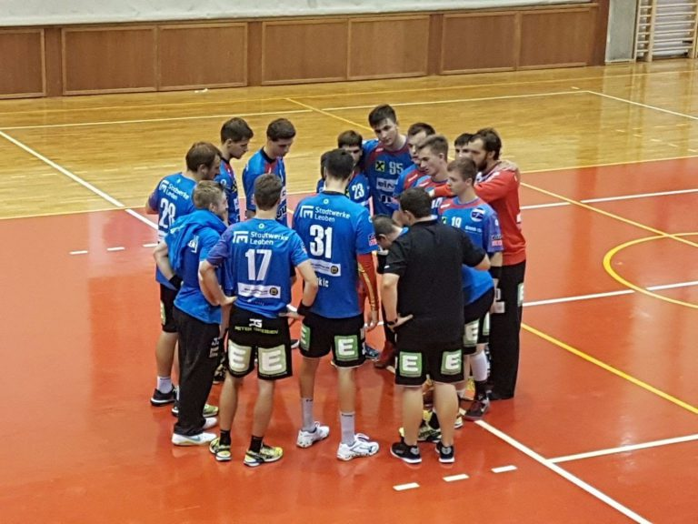 Handball Bezirks-Derby: Leoben im Testspiel gegen Trofaiach erfolgreich