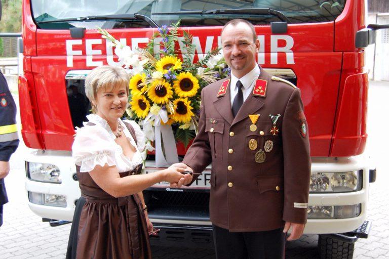 Neues Einsatzfahrzeug für die Feuerwehr St. Peter-Freienstein