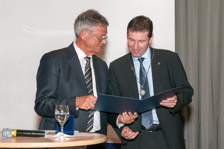 Montanuni: Professor erhielt Georg-Agricola-Denkmünze