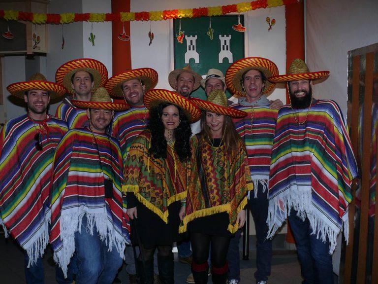 Fiesta Mexicana in Kammern