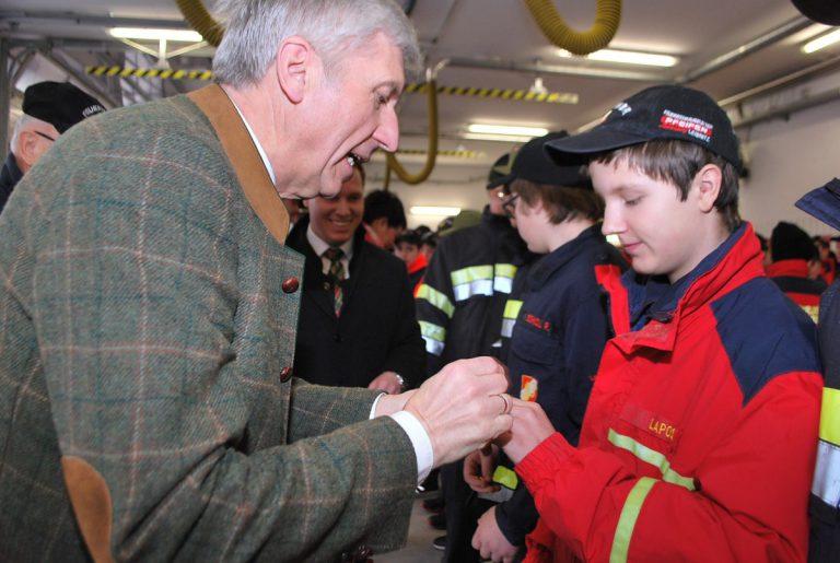 Großes Wissen der Feuerwehrjugend