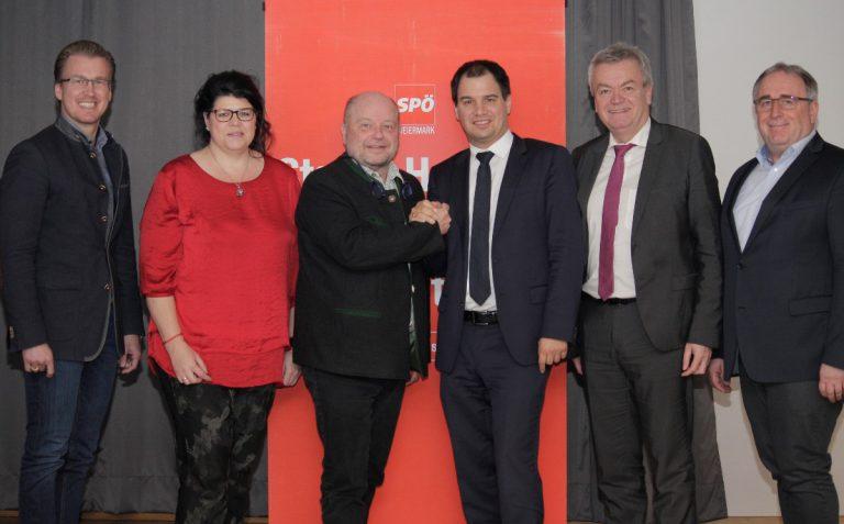 Geschäftsführerwechsel in der SPÖ Regionalorganisation Leoben-Eisenerz
