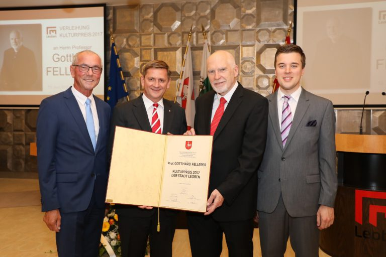 Kulturpreis 2017 der Stadt Leoben überreicht