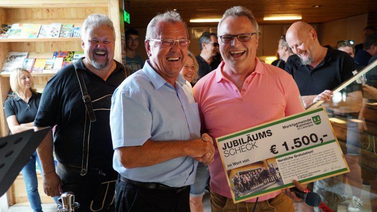 20-jähriges Bestandsjubiläum der Reiting Bikers Kammern