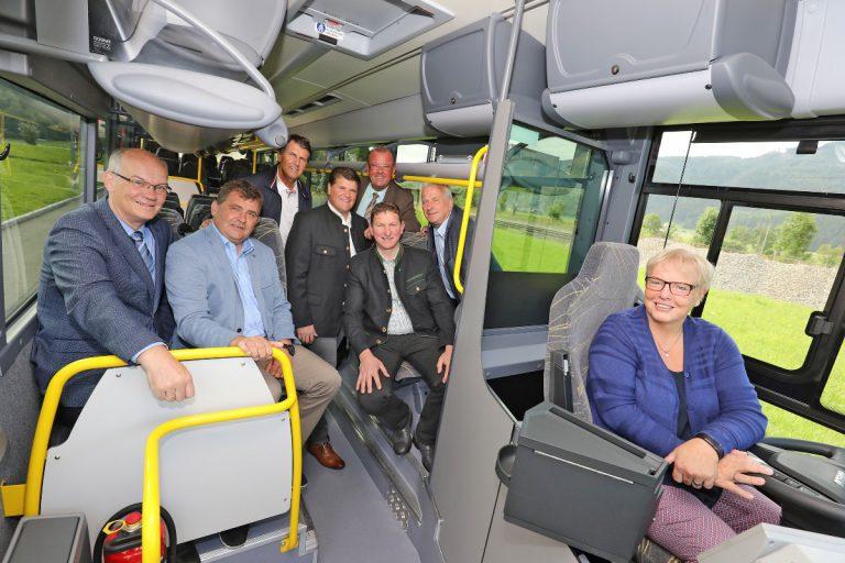 Der neue Regiobus für das Liesingtal, St. Stefan und Kraubath