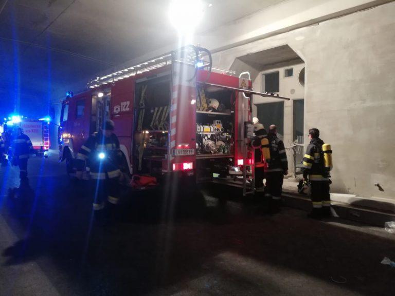 Video vom Brand im Gleinalmtunnel