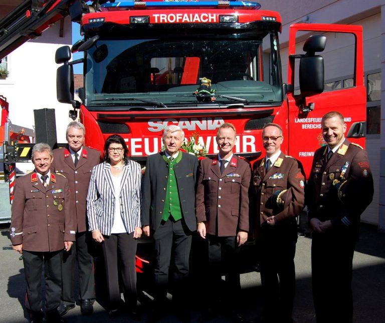 Neues Wechselladerfahrzeug für die Feuerwehr Trofaiach