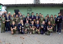 Die erfolgreichen Mädchen und Buben des 27. Kegelturniers der Feuerwehrjugend des Bereichsfeuerwehrverbandes Leoben. (Foto: BFV Leoben)