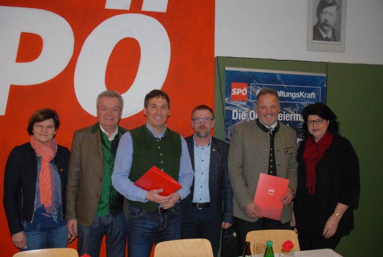 Mitgliederhauptversammlung mit Neuwahl der SPÖ Mautern
