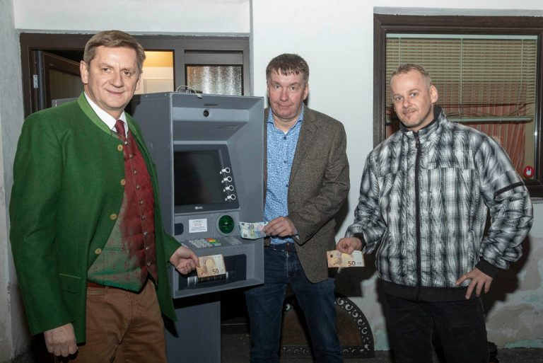Neuer Bankomat in Leoben-Hinterberg in Betrieb