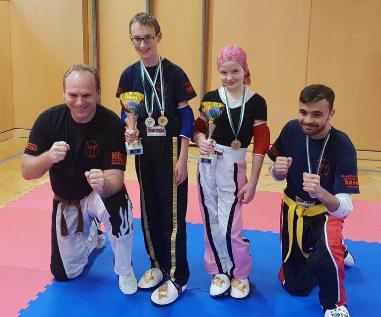 Kickboxclub St. Michael startete erfolgreich in die Saison